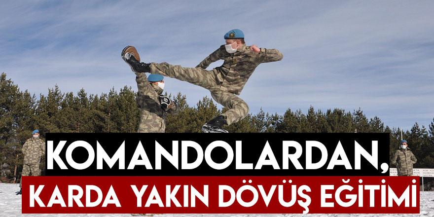 Komandolardan, Karda Yakın Dövüş Eğitimi