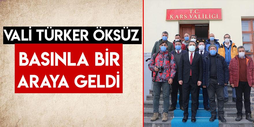 Vali Türker Öksüz Basınla Bir Araya Geldi