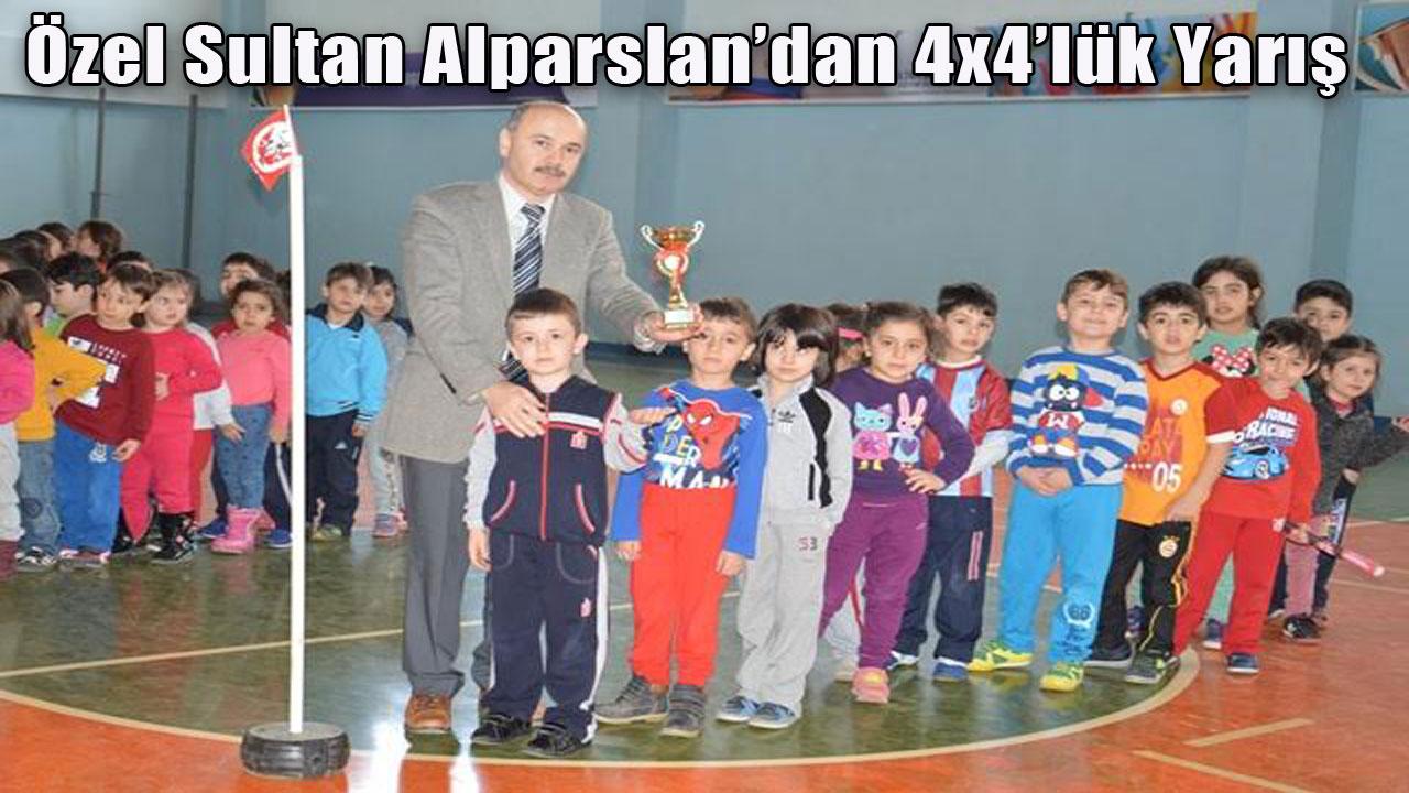 Özel Sultan Alparslan'dan 4x4'lük Yarış