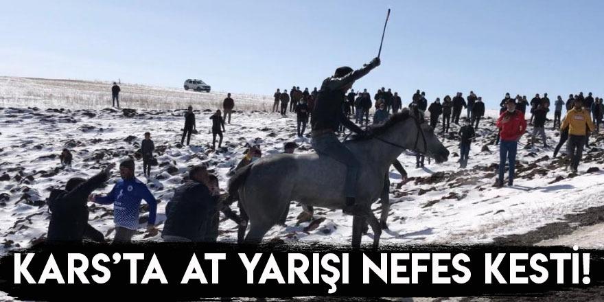 Kars'ta At Yarışı Nefes Kesti
