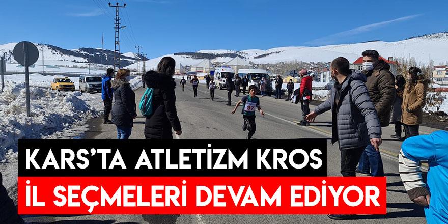 Kars'ta Atletizm Kros İl Seçmeleri Devam Ediyor