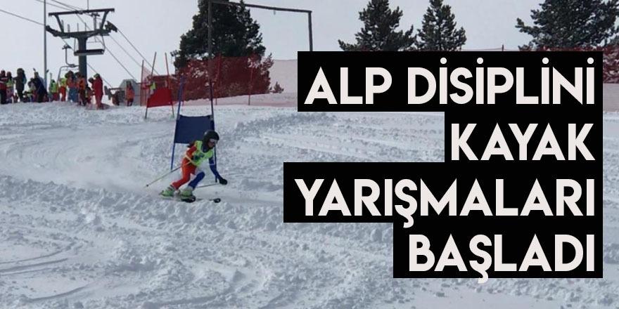 Alp Disiplini Kayak Yarışmaları Başladı