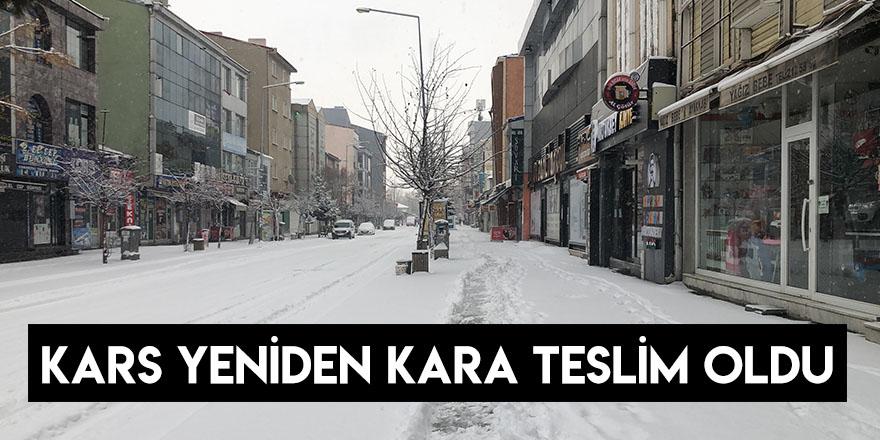 Kars Yeniden Kara Teslim Oldu