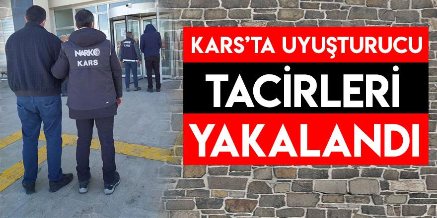 Kars'ta Uyuşturucu Tacirleri Yakalandı