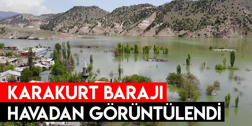 Karakurt Barajı Havadan Görüntülendi