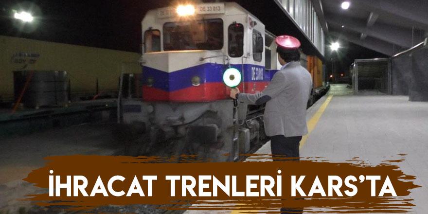Çin'e Gidecek İhracat Trenleri Kars'ta
