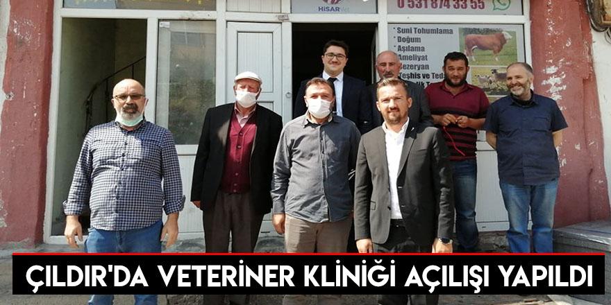 Çıldır'da Veteriner Kliniği Açılışı Yapıldı