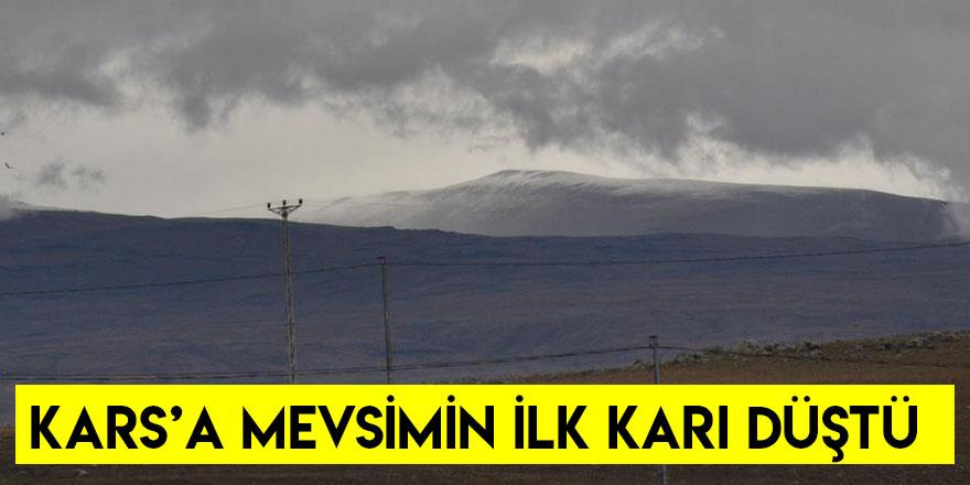Kars'a Mevsimin İlk Karı Düştü