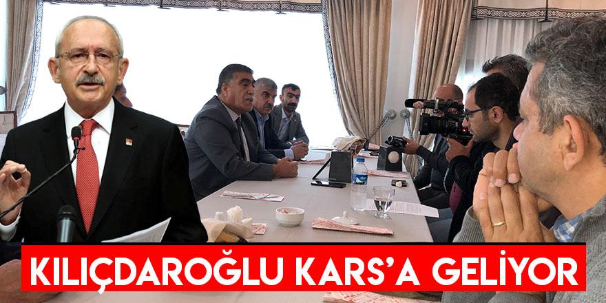 Kılıçdaroğlu Kars'a Geliyor