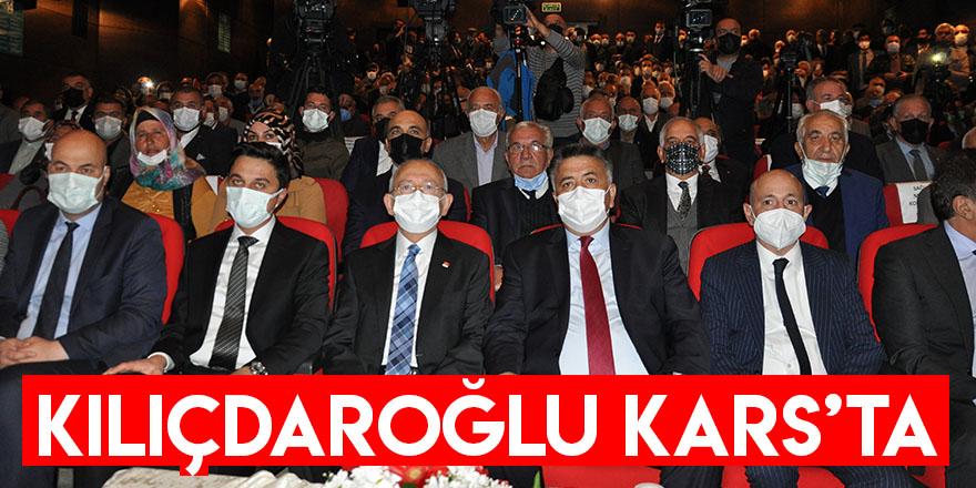 Kılıçdaroğlu Kars'ta