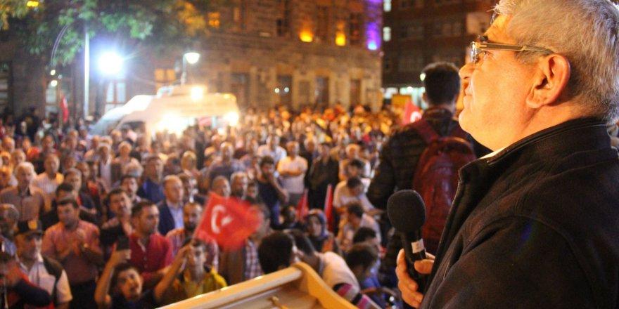 Murtaza Karaçanta'dan 15 Temmuz etkinliklerine davet