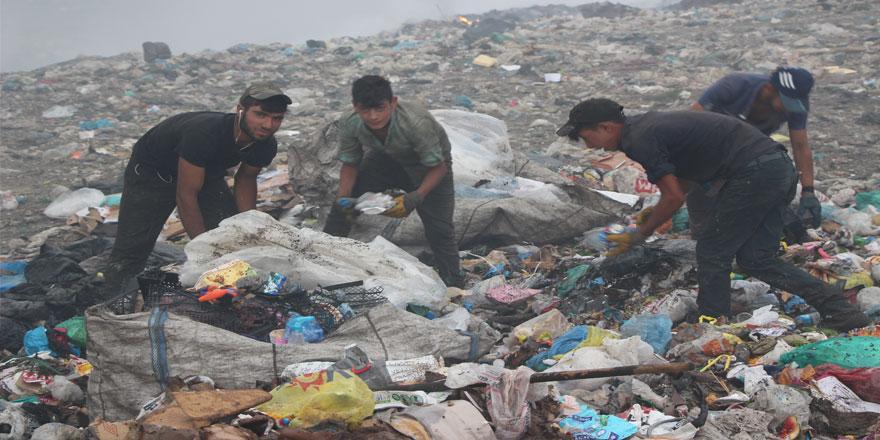 Kars Çöplüğünde  Yaşam Savaşı