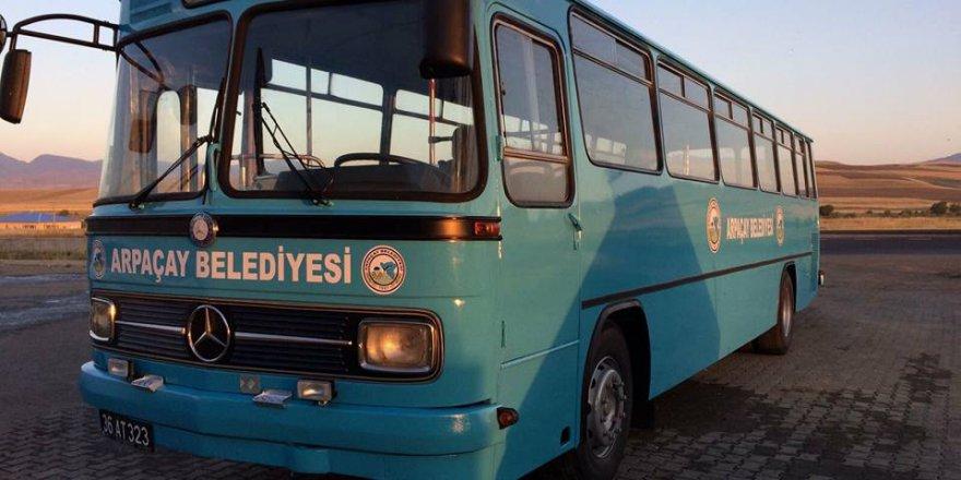 Arpaçay Belediyesi atıl durumdaki aracını onardı