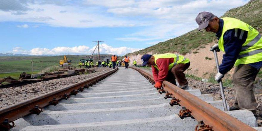 Kars'ta Hırsızların Yeni Hedefi Bakü Tiflis Kars Demiryolu