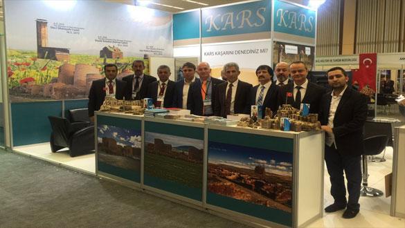 Travel Expo Ankara Turizm Fuarı´nda Kars Belediyesi Yerini Aldı