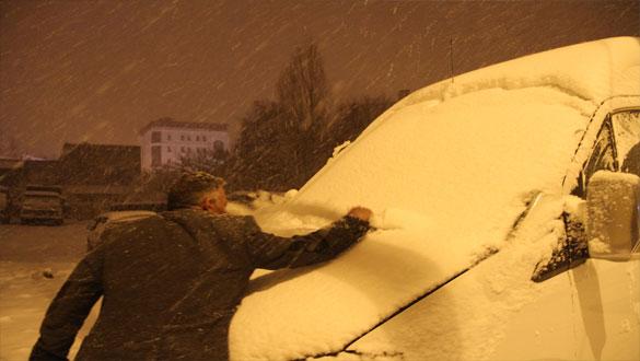 Ardahan'a Nisan'da Kar Sürprizi