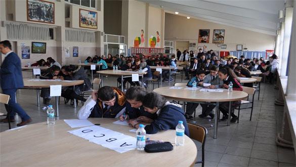 Arpaçay´da Ortaokullar Arası Bilgi Yarışması Yapıldı