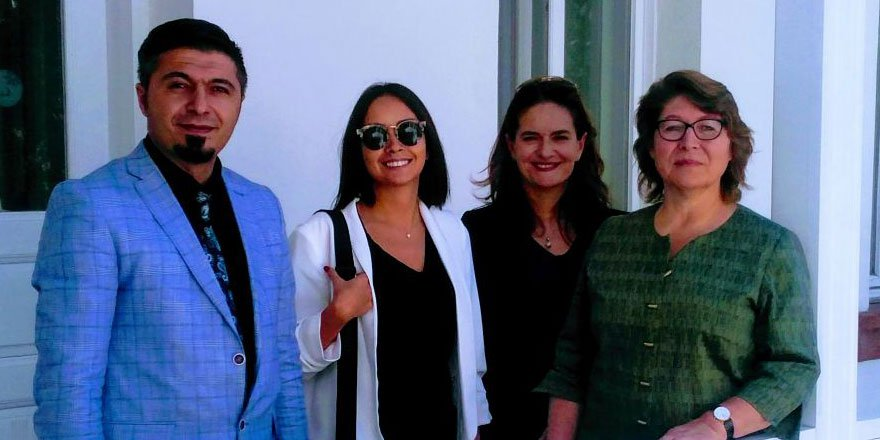 Birleşmiş Milletler Kalkınma Programı Temsilcisi İrena Vojackova Sollorano, Kar's Otel'de!
