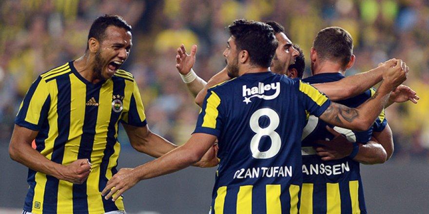 Fenerbahçe Kadıköy'de Kazandı