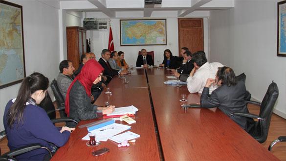 İl İnsan Hakları ve Eşitlik Kurulu Toplantısı Yapıldı