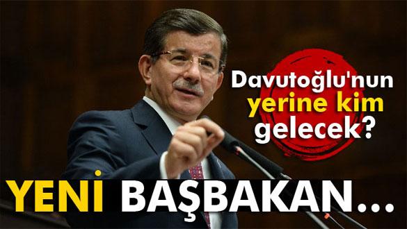 Davutoğlu´nun yerine kim gelecek? Kulislerde ismi geçen 4 AK Partili