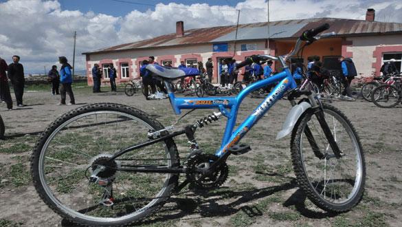 Fen Lisesi Öğrencileri 4 Kilometre Pedal Çevirdi