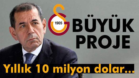 Dursun Özbek, yapılması planlanan spor salonu hakkında konuştu
