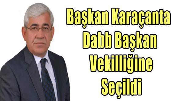 Başkan Karaçanta Dabb Başkan Vekilliğine Seçildi