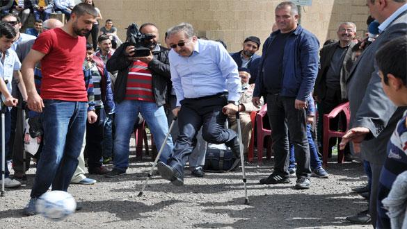Ani Antik Kentte 14 Mayıs, Engellilerle Empati Günü İlan Edildi