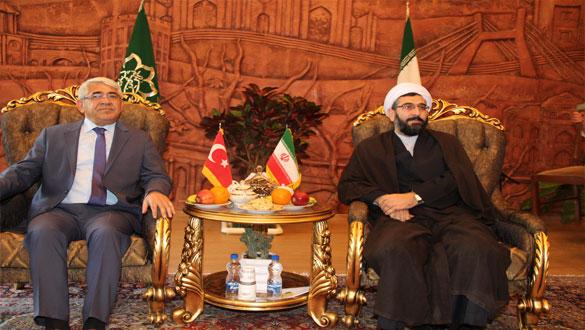 Başkan Karaçanta Tebriz Belediyesini Ziyaret Etti