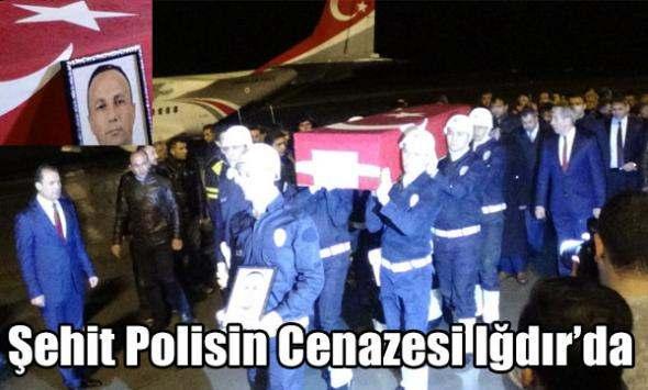 Şehit Polisin Cenazesi Iğdır´da