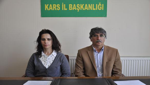 Kars HDP, Dokunulmazlıkların Kaldırılmasına Destek Veren CHP'yi Kınadı