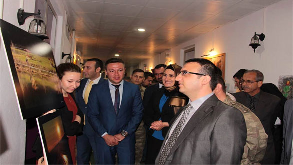 Digor'da Yıl Sergisi Açıldı