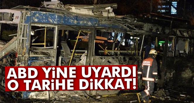 ABD´den 20 Mart için terör saldırısı uyarısı