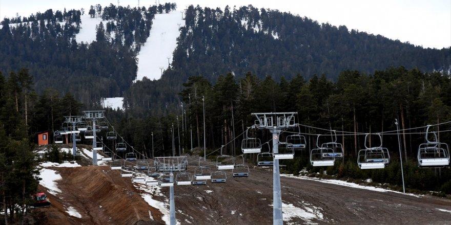 Cıbıltepe'de Kayak Sezonu Kapandı