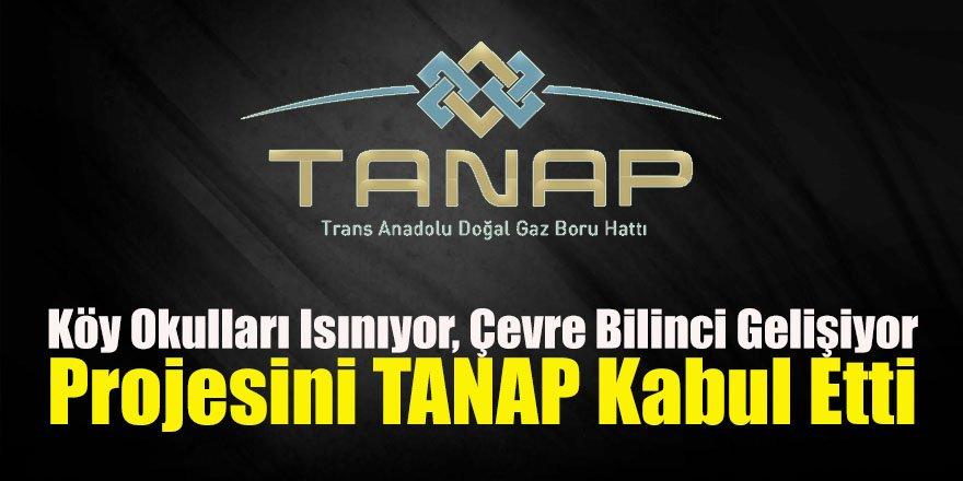 """""""Köy Okulları Isınıyor, Çevre Bilinci Gelişiyor"""" projesini TANAP kabul etti"""