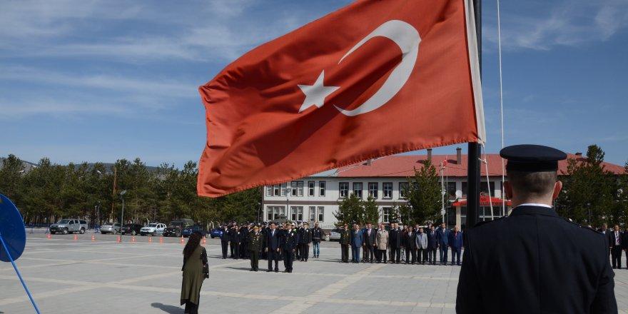 Sarıkamış'ta Türk Polis Teşkilatının 173. kuruluş yıldönümü