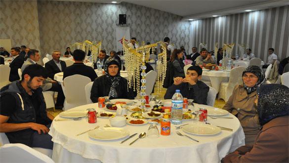 Şehit ve Gazi Aileleri İçin İftar Yemeği