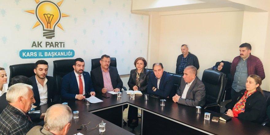 AK Parti Kars İl Teşkilatı 24 Haziran'da Yapılacak Seçimlere Hazır