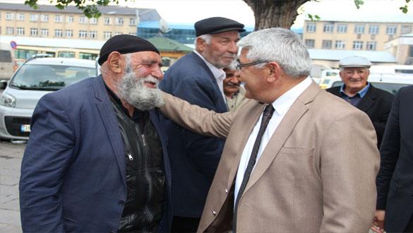 Başkan Karaçanta Halkımız Baştacımızdır