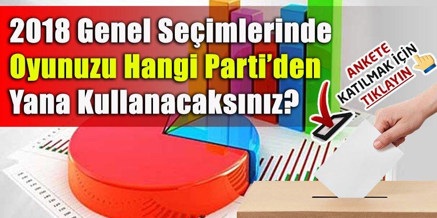 Kars'ta Milletvekili Seçimlerinde Oyunuzu Hangi Partiye Kullanacaksınız?