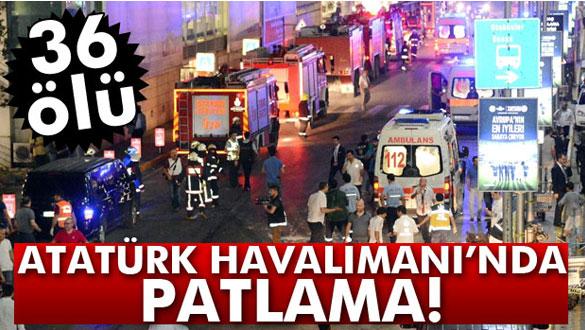 Atatürk Havalimanı´nda patlama!