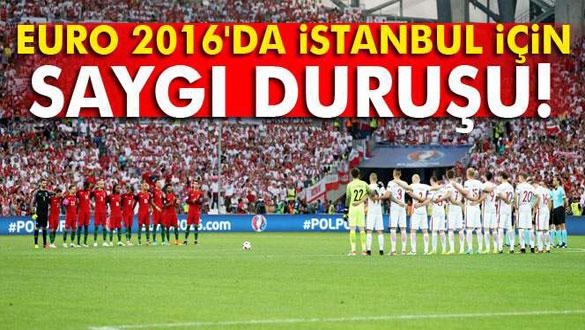 Türkiye için 1 dakikalık saygı duruşu