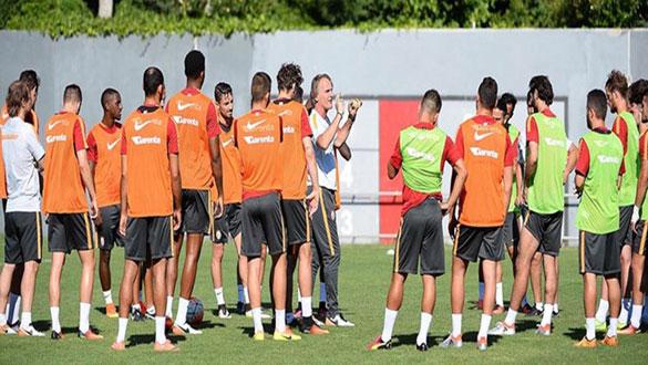 Galatasaray yeni sezon hazırlıklarını sürdürüyor