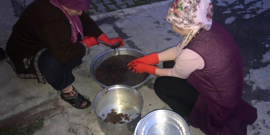 Kars'ta C Vitamin Deposu Kuşburnu Ramazan İçin Hazırlanıyor