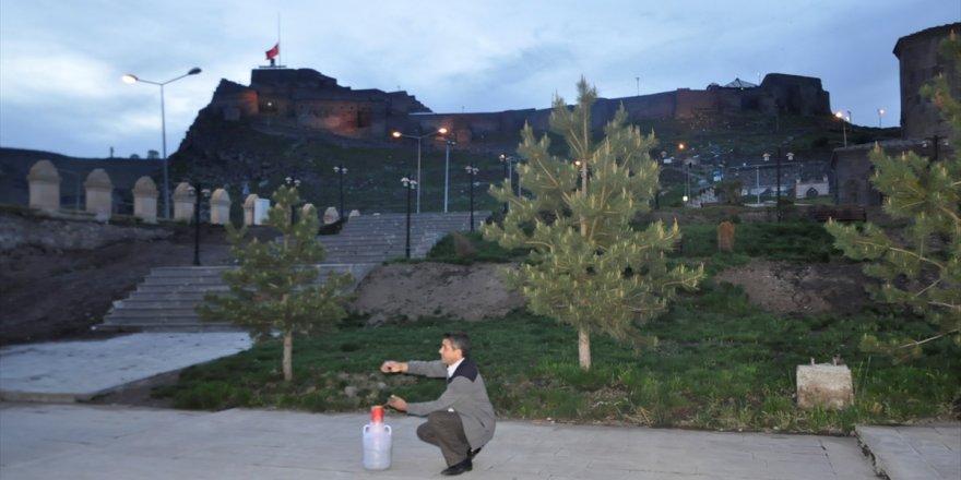 İlk İftar Topu Kars'ta Atıldı
