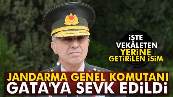 Jandarma Genel Komutanı Galip Mendi GATA´ya sevk edildi