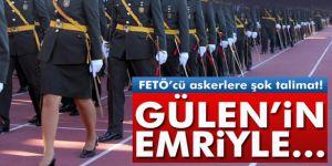 Darbeci FETÖ´cü askerler Gülen'in emriyle eşlerini boşamışlar
