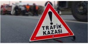 Trafik kazası 2 ölü 1 yaralı