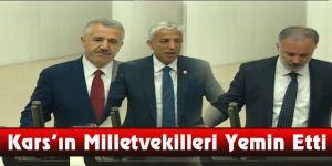 Kars'ın Milletvekilleri Yemin Etti